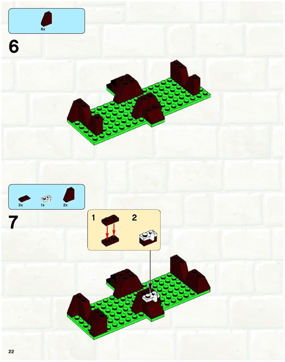 lego knights kingdom instructions