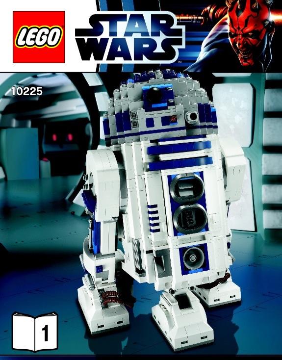 Lego r2 d2 instructions 10225 star wars - Lego starwars r2d2 ...