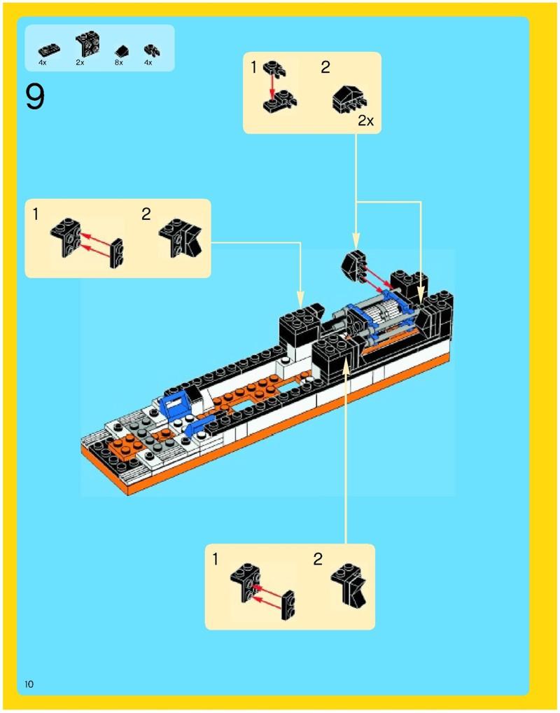 lego horizon express instructions