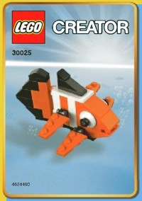 Lego clown fish instructions 30025 creator for Fishing companies looking to sponsor